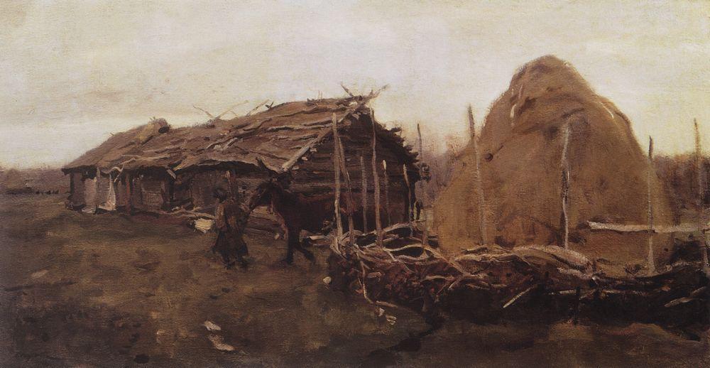 Стог сена. 1901