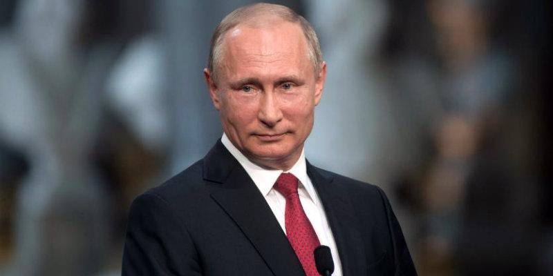 Путин: первая речь
