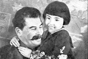 23 сентября 1937 года «Правда» напечатала фразу «Спасибо товарищу Сталину за счастливое детство!»