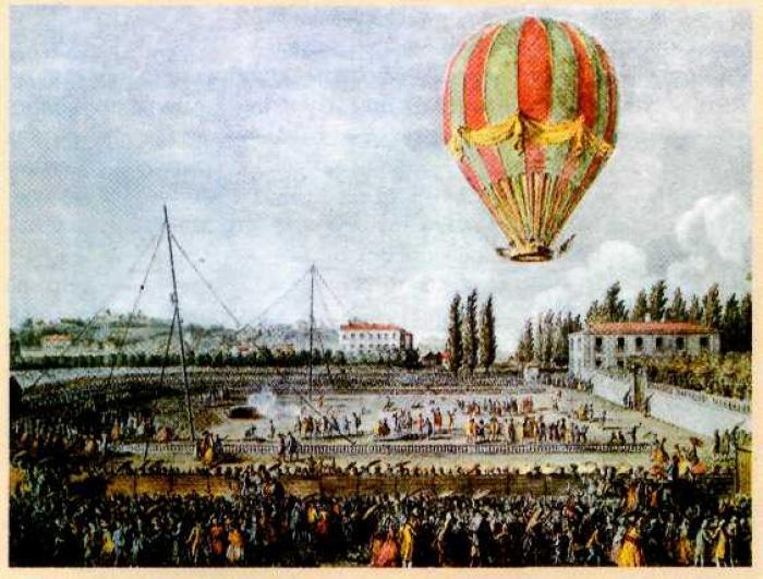 2 октября 1803 года Москва впервые увидела полет воздушного шара