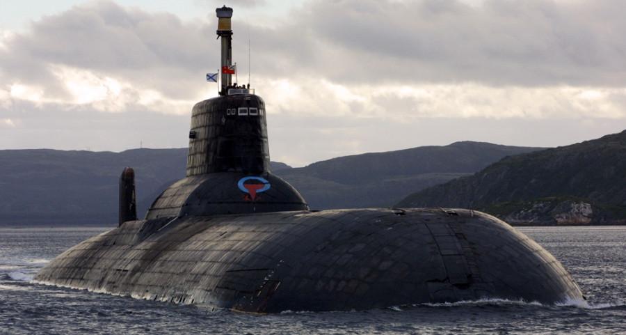 зонах 34 подводных лодок