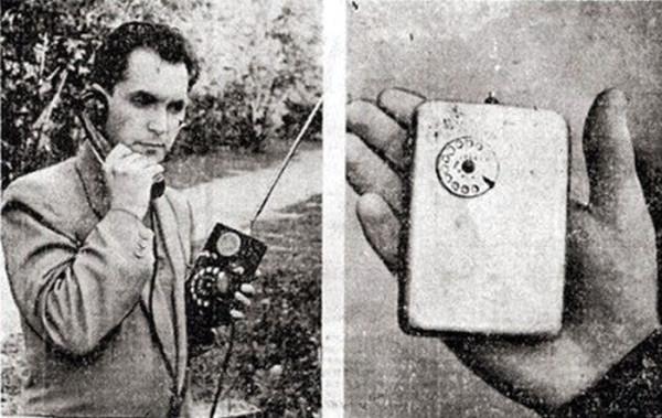 Изначально прибор весил около 3 кг, но Куприянов работал над его усовершенствованием и добился уменьшения объема при сохранении функциональности. Экрана телефон не имел, а номер набирался с помощью миниатюрного дискового механизма