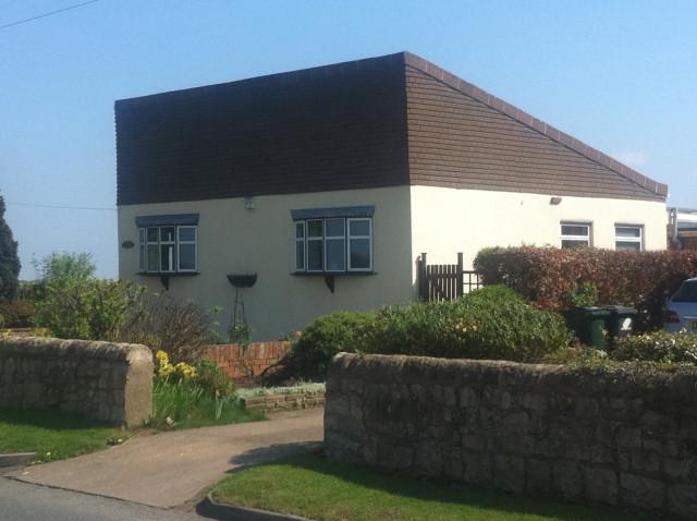 house that looks like hitler. that looks like Hitler