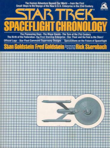 Cover for Spaceflight Chronology - US version