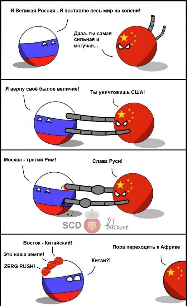 РФ и Китай