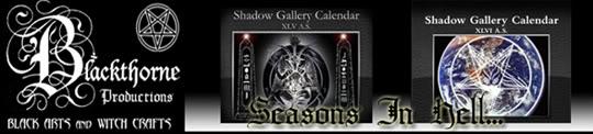 Shadow Gallery Calendar: Seasons In Hell