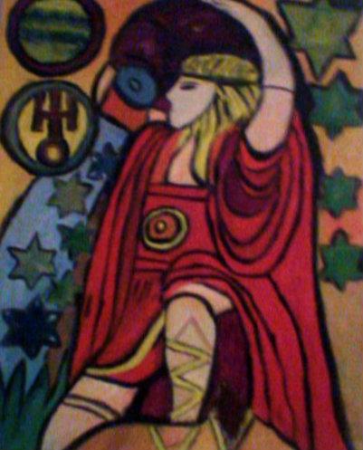 Aquarius by Elvia Quiroz