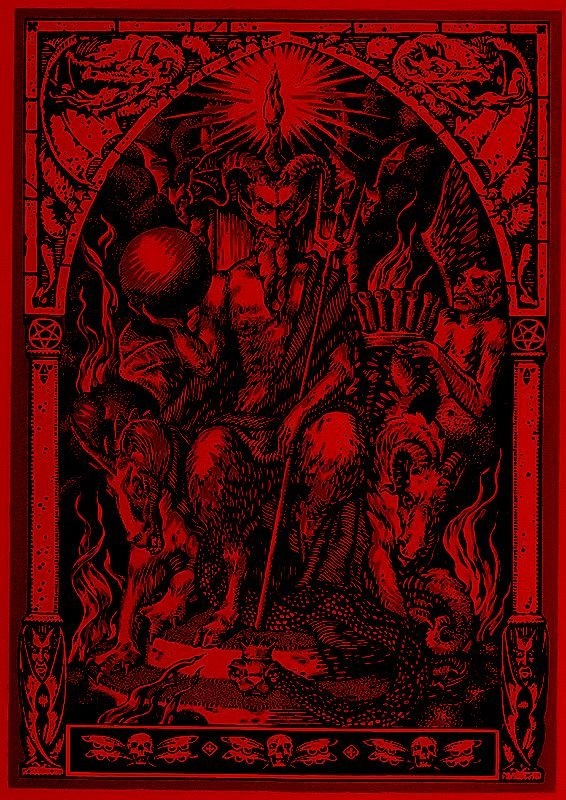 Satan Enthroned