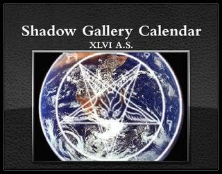 The Shadow Gallery Calendar XLVI A.S.