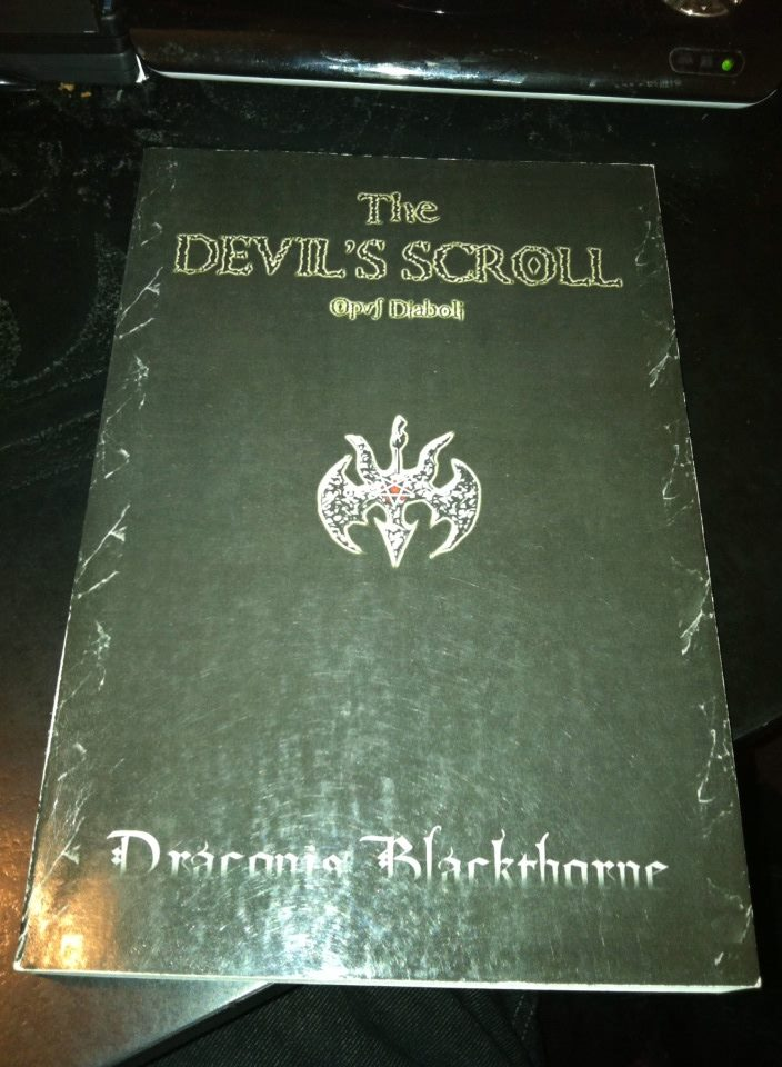 The Devil's Scroll by Draconis Blackthorne