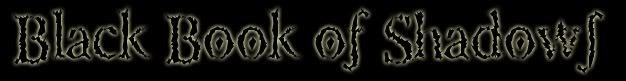 Black Book of Shadows