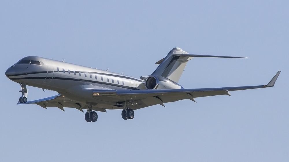 LX-GXX GLEX Global Jet Luxembourg VKO 0