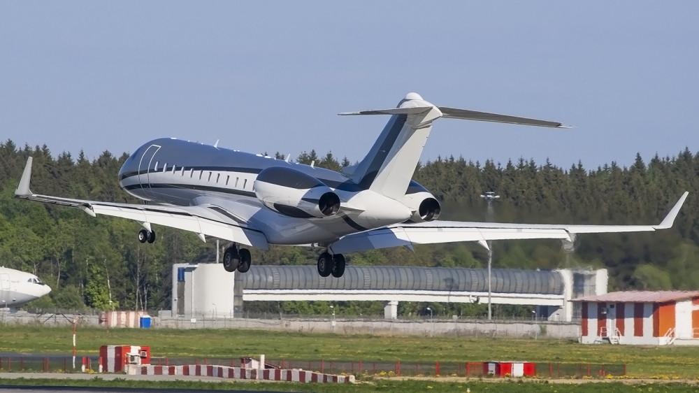 LX-GXX GLEX Global Jet Luxembourg VKO 2