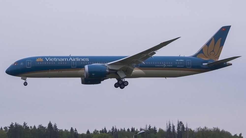 VN-A862 B789 Vietnam Airlines VKO 2