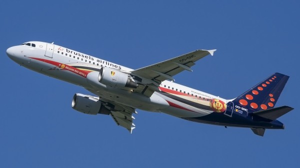 OO-SNC A320 Brussels Airlines DME