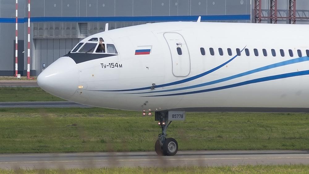 RA-85778 T154(M) Gazpromavia VKO Last Flight 0