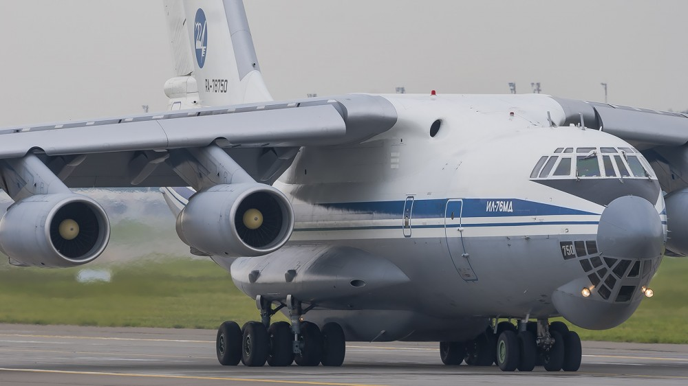 RA-78750 IL76(MD) Russian Air Force (224LO) VKO
