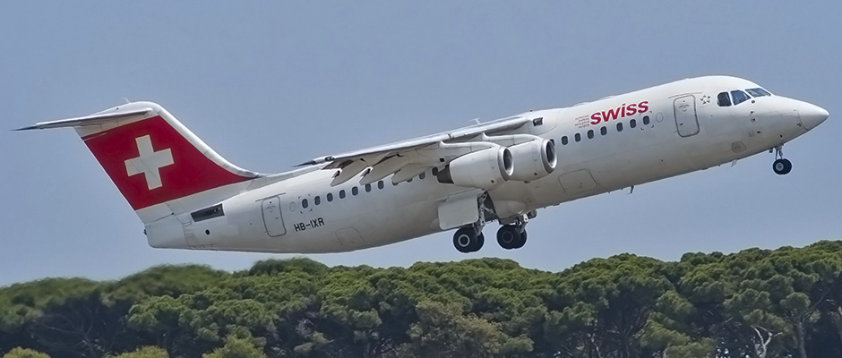 HB-IXR RJ1H Swiss BCN