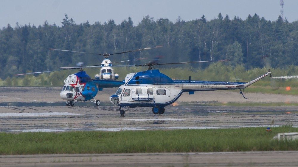 RF-91411 09BLUE MI2(U) Russian Air Force UUMB 1