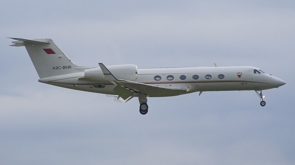 A9C-BHR, GLF4(G450) Bahrain Royal Flight VKO