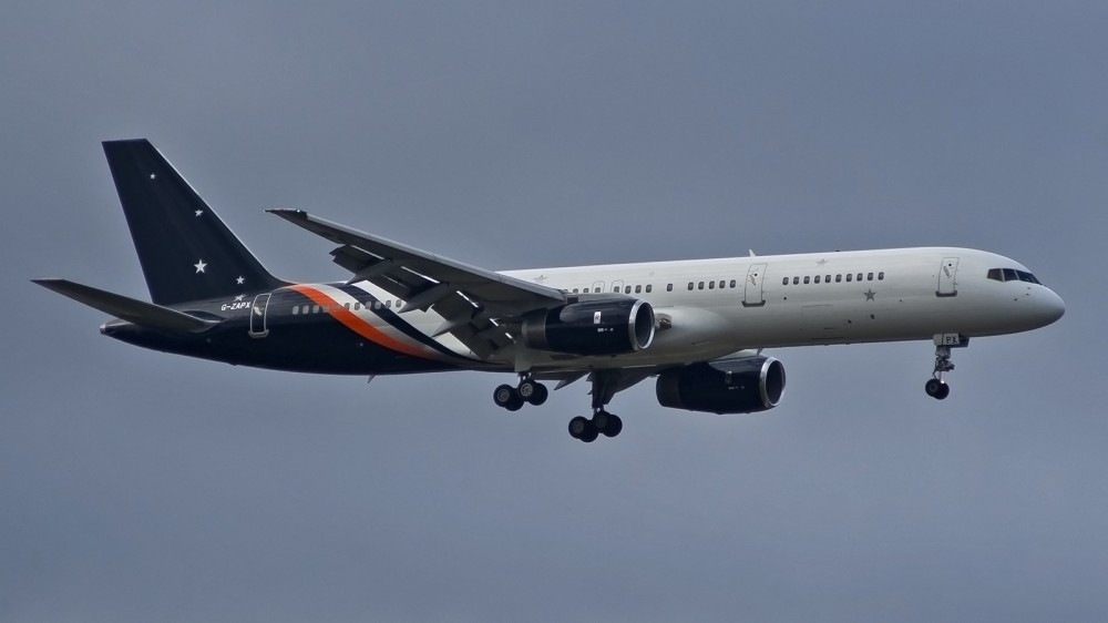 G-ZAPX B752 Titan Airways SVO 1