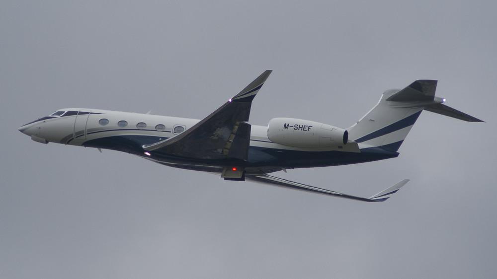 M-SHEF GLF6 Global Jet VKO