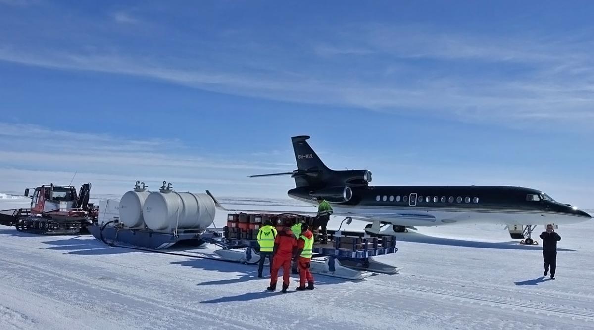 OH-WIX в Антарктиде