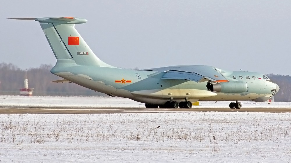 78699 IL-76 China Air Force 1500