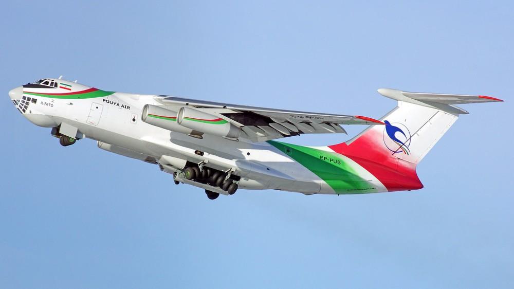 EP-PUS IL-76TD Pouya Air 1400