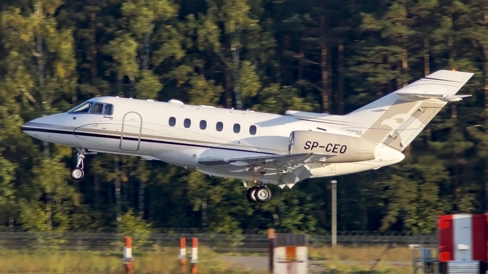 SP-CEO H25B(Hawker 750) Blue Jet SP VO