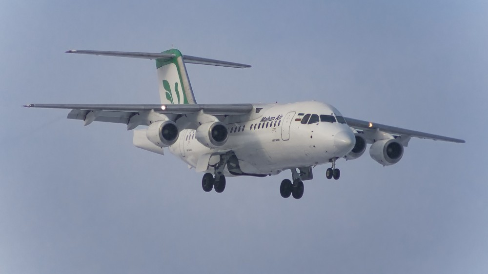 EP-MOQ RJ85 (BAe 146-200) Mahan Air VKO 0