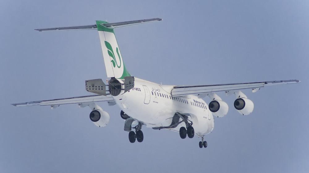 EP-MOQ RJ85 (BAe 146-200) Mahan Air VKO 2