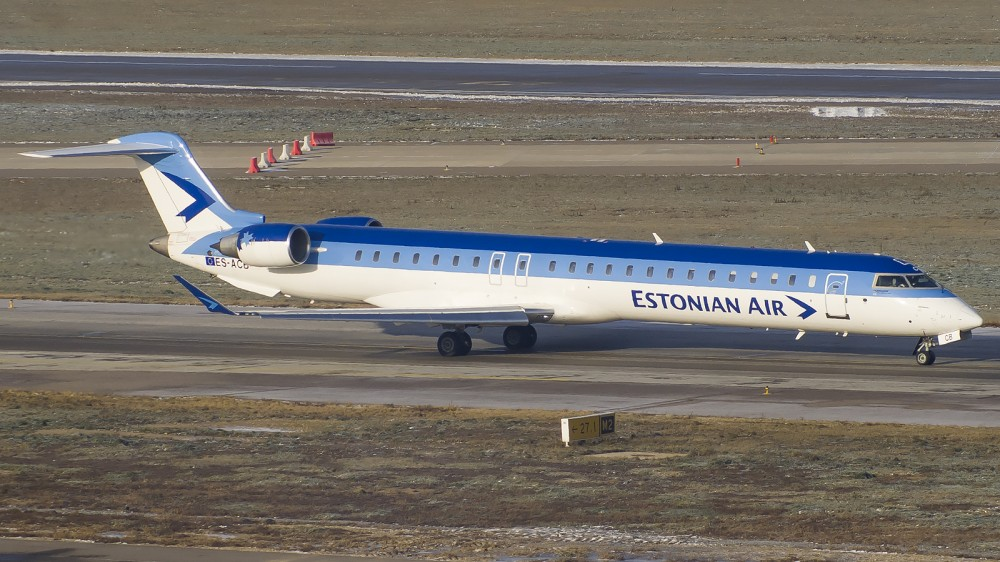ES-ACB CRJ9 Estonian Air SVO