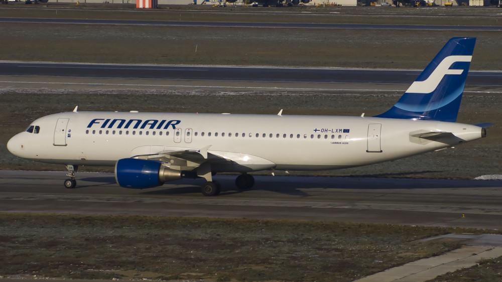 OH-LXM A320 Finnair SVO