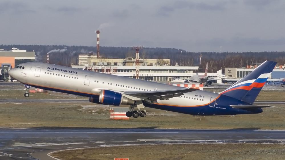 VP-BAV B763 Aeroflot SVO