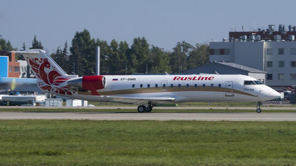 VP-BMN CRJ2 Rusline DME