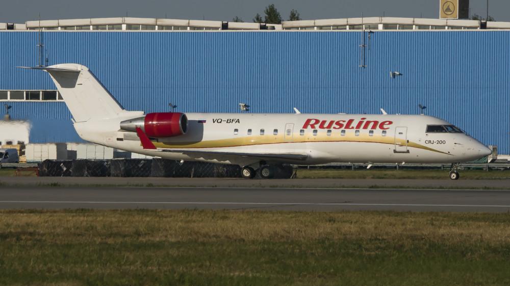 VQ-BFA CRJ2 Rusline DME