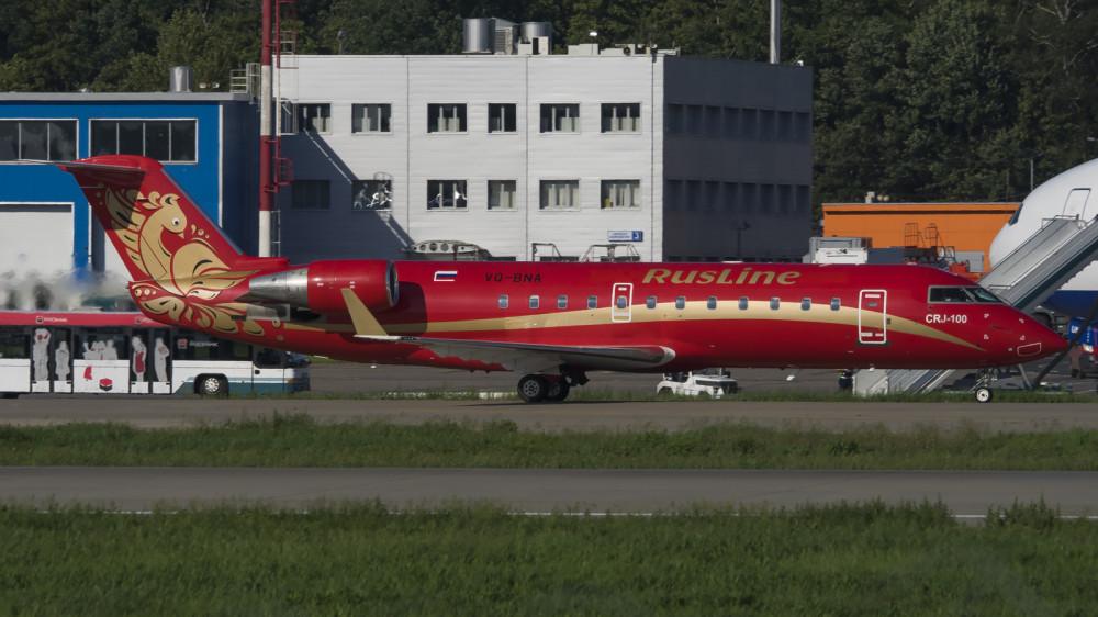VQ-BNA CRJ1 Rusline DME