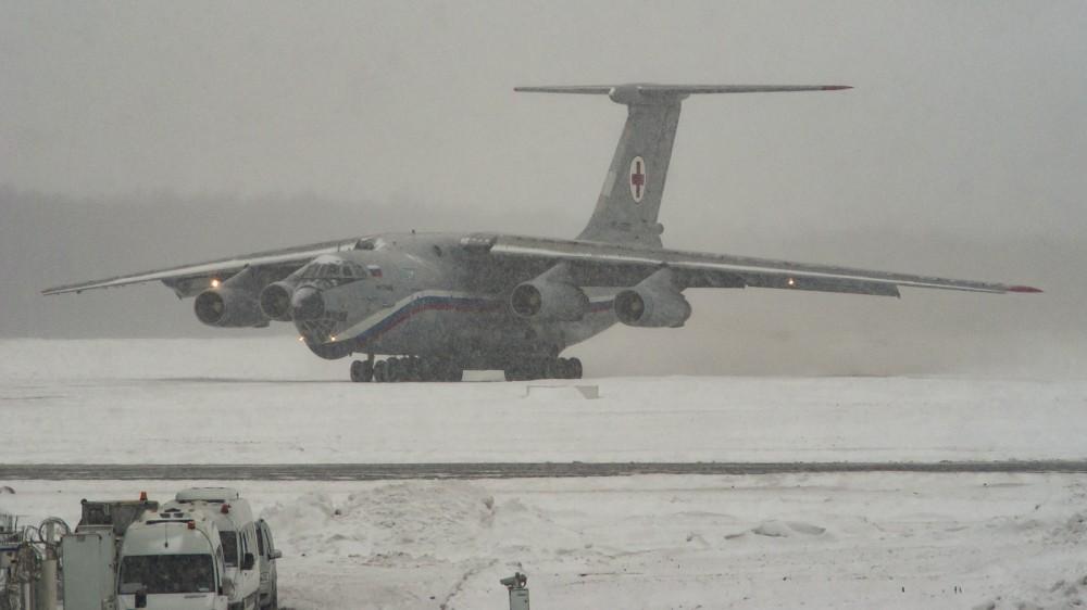 RA-86906 IL76(MD) Russian Air Force (223LO) VKO2