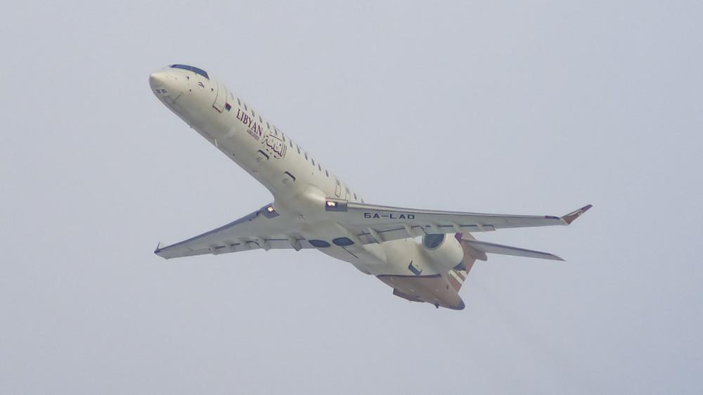 5A-LAD CRJ9 Libyan Airlines VKO2