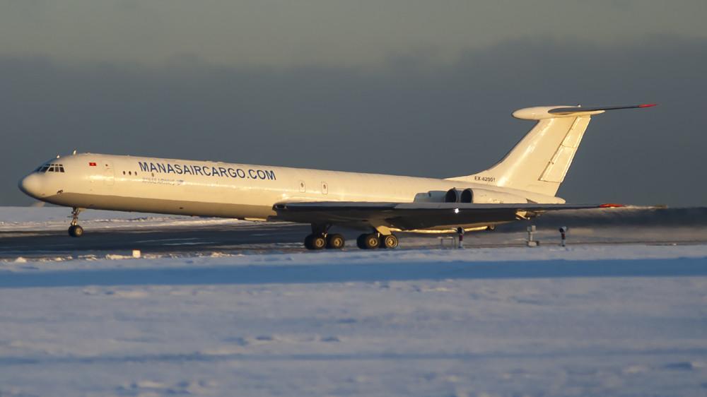 EX-62001 IL62(MGr) Manas Airways VKO1