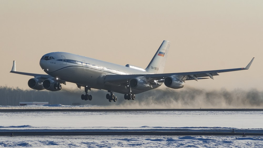 RA-96104 IL96(400 VPU) Special Flight Squadron Rossiya VKO 2