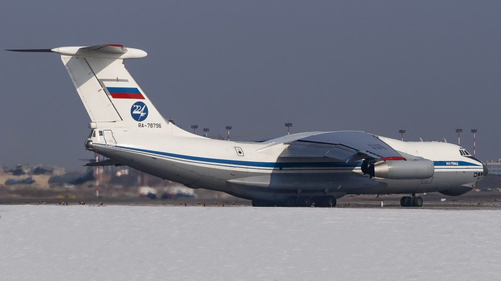 RA-78796 IL76(MD) Russian Air Force (224 Flight Squadron) VKO