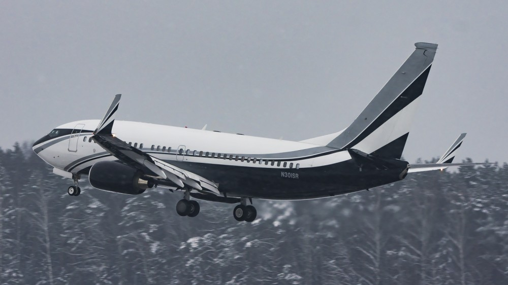 N301SR B737(BBJ) Essar Shipping and Logistics VKO UUWW 3