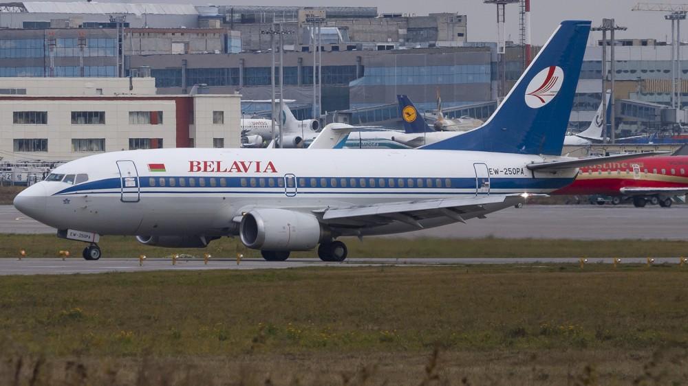 EW-250PA B735 Belavia DME