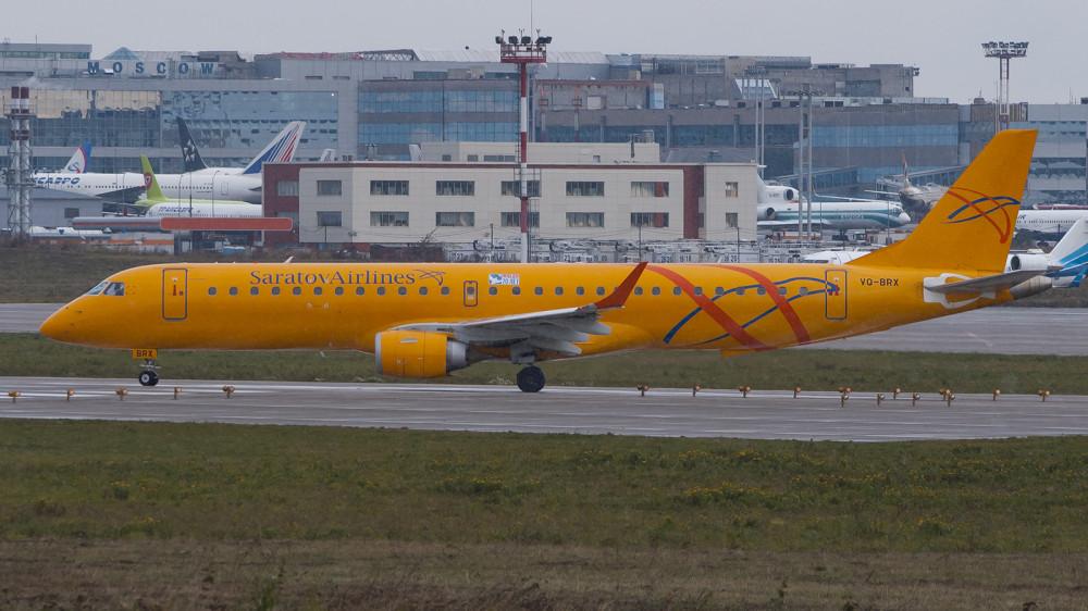 VQ-BRX E190 Saratov Airlines DME