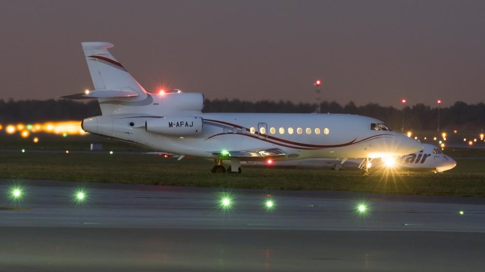 M-AFAJ F900(EX) DC Aviation VKO