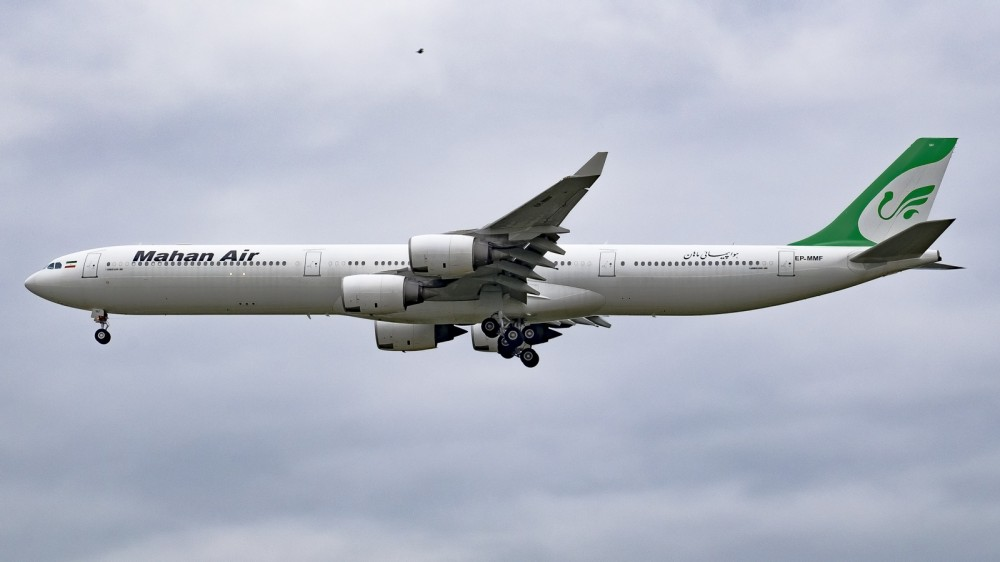 EP-MMF A346 Mahan Air VKO