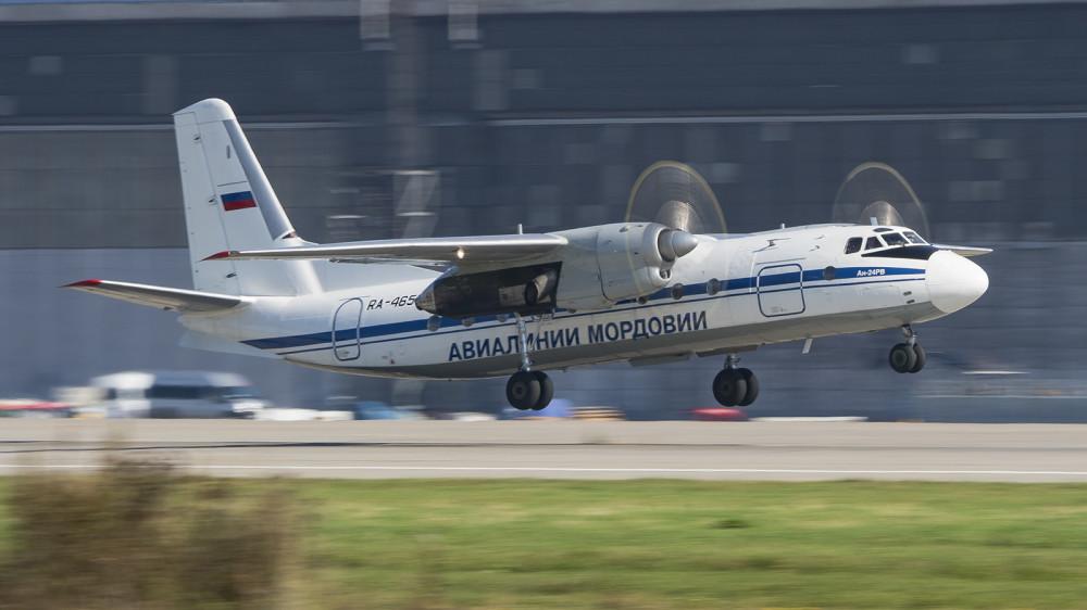 RA-46505 AN24(RV) IrAero Mordovia Airlines livery DME