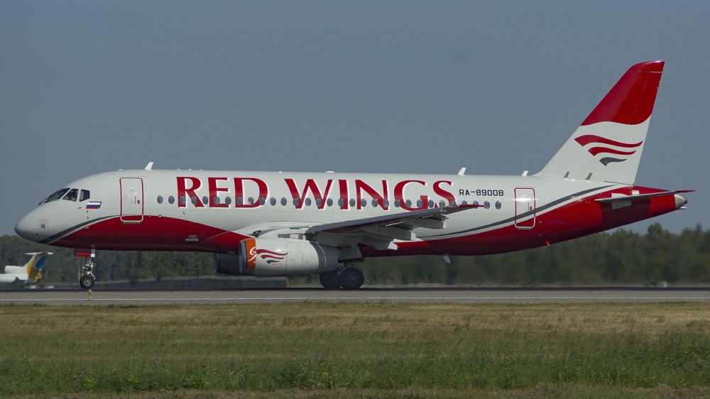 RA-89008 SU95 Red Wings DME